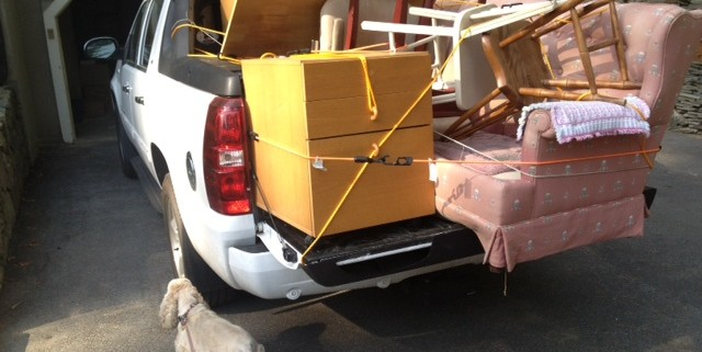 Donor 5-9-15 truck packed for Household Goods copy