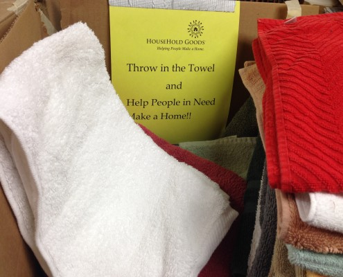 household goods towel drive