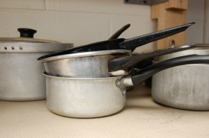 hg pots and pans