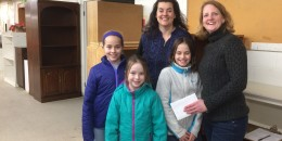 Thank you, Lincoln Girl Scout Troop 5
