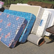 Copy of items mattresses outside