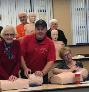 stow comm chest CPR Training